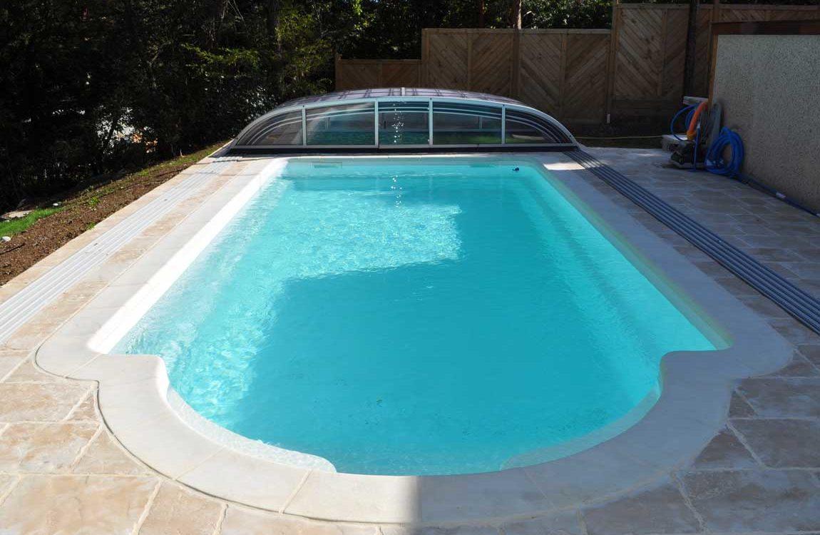 construction piscine à Montfort en Isère