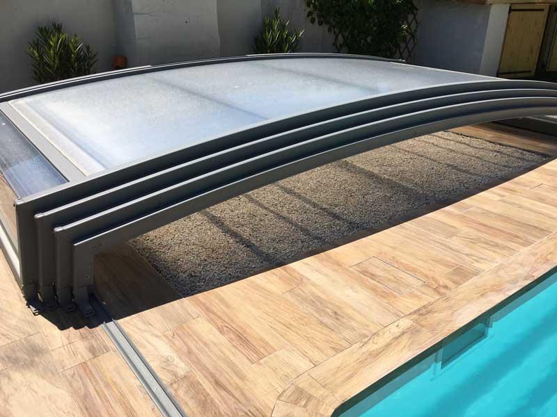 Sécurité piscine : pose d'Abris télescopique à Grenoble