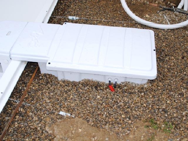 Le bloc filtrant du kit piscine