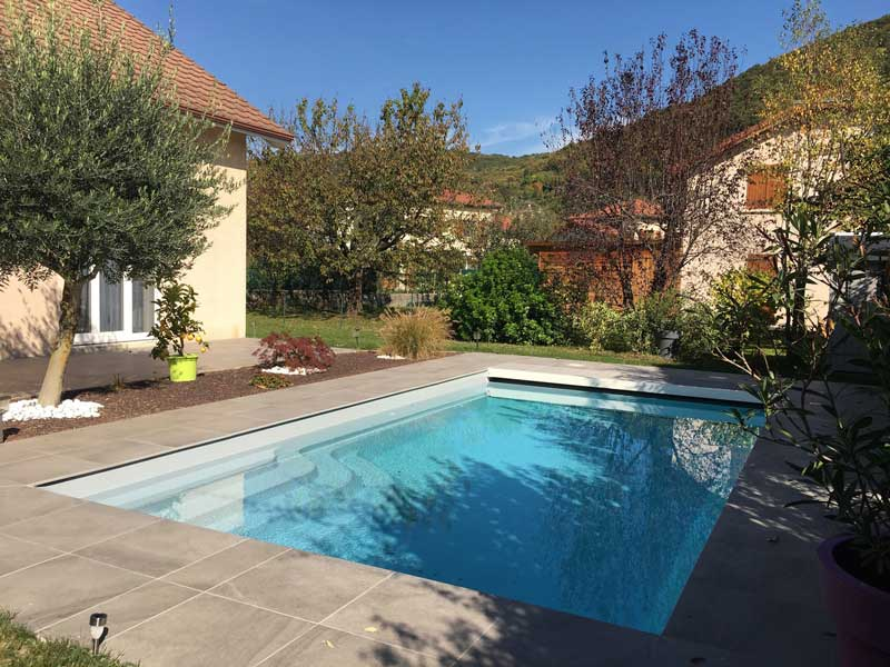 volet immergé de piscine à Grenoble