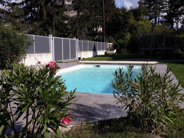 Construction d'une piscine à coque à Saint Martin d'Hères