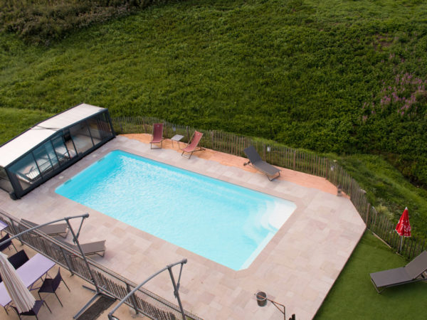 Construction d'une piscine dans me massif du Vercors