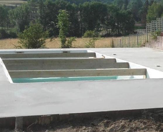 Rénovation d'une vielle piscine et de sa terrasse